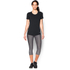 Under Armour Women's HeatGear CoolSwitch Short Sleeve T-Shirt - Black: Image 3