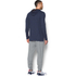 Under Armour Men's Triblend Pullover Hoody - Amidnight Navy: Image 5