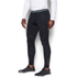 Under Armour Men's ColdGear Jacquard Leggings - Black/Steel: Image 3