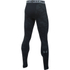 Under Armour Men's ColdGear Jacquard Leggings - Black/Steel: Image 2