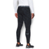 Under Armour Men's ColdGear Jacquard Leggings - Black/Steel: Image 4
