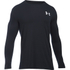 Under Armour Men's Vertical Wordmark Long Sleeve Shirt - Black/White: Image 1