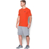 Under Armour Men's Sportstyle Left Chest Logo T-Shirt - Dark Orange/Nova Teal: Image 4
