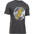 Under Armour Men's Retro Flash Short Sleeve T-Shirt - Carbon Heather: Image 1