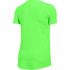 Under Armour Women's HeatGear Armour Short Sleeve T-Shirt - Lime Light: Image 2