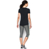 Under Armour Women's HeatGear Armour Short Sleeve T-Shirt - Black: Image 5