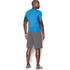 Under Armour Men's Armour HeatGear Short Sleeve Training T-Shirt - Brilliant Blue/Stealth Grey: Image 5
