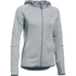 Under Armour Women's Swacket Full Zip Hoody - Steel: Image 1