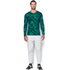 Under Armour Men's ColdGear Jacquard Crew Long Sleeve Shirt - Nova Teal: Image 3