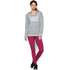 Under Armour Women's Favourite Fleece Hoody - True Grey Heather: Image 3