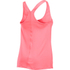 Under Armour Women's HeatGear Armour Racer Tank - Brilliant Pink/Metallic Silver: Image 2