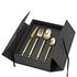 Broste Copenhagen Tvis Gold Cutlery Set: Image 1