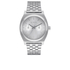 Nixon Time Teller Deluxe Watch - Silver: Image 1