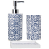 Sorema Indigo Bath Bathroom Accessories (Set of 3): Image 1