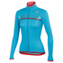Sportful Women's Allure Thermal Long Sleeve Jersey - Turquoise: Image 1