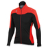 Sportful Fiandre NoRain Jacket - Black/Red: Image 1