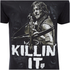 The Walking Dead Killin It Heren T-Shirt - Zwart: Image 4