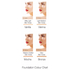 Mirenesse 4 in 1 Skin Clone Foundation Powder SPF 15 13g - Mocha: Image 3
