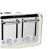 Dualit 46523 Architect 4 Slot Toaster - Canvas: Image 2