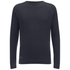 Dissident Men's Krios Crew Neck Raglan Jumper - Dark Navy: Image 1