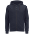 Dissident Men's Cobden Pique Zip Through Hoody - True Navy: Image 1