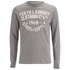Tokyo Laundry Men's Point Hendrick Long Sleeve Top - Mid Grey Marl: Image 1