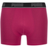 Puma Men's 2-Pack Boxers - Pink/Black: Image 2