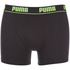 Puma Men's 2-Pack Boxers - Grey/Black: Image 2