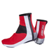 Nalini Gara Overshoes - Red: Image 1