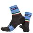 Nalini Salita Socks - Black/Blue: Image 1