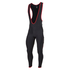 Nalini Classica Bib Tights - Black/Red: Image 1
