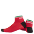 Nalini Strada Socks 9cm - Red: Image 1