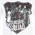 DC Comics Suicide Squad Men's Sheild T-Shirt - White: Image 4