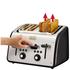 Tefal Maison TT7708UK Stainless Steel 4 Slice Toaster - Chalkboard Black: Image 4