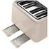 Tefal Maison TT770AUK Stainless Steel 4 Slice Toaster - Oatmeal Grey: Image 4