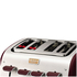 Tefal Maison TT7705UK Stainless Steel 4 Slice Toaster - Pomegranate Red: Image 3