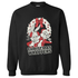 Warner Brothers Men's Bugs Bunny Christmas Sweatshirt - Black: Image 1