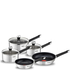 Tefal E824S544 Emotion Stainless Steel 5 Piece Set: Image 1
