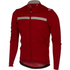 Castelli Costante Long Sleeve Jersey - Red/Grey: Image 1