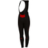 Castelli Women's Chic Bib Tights - Black/Red: Image 1