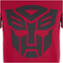 Transformers Men's Transformers Black Emblem T-Shirt - Red: Image 5