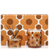 Orla Kiely Sunset Flora Orange Rind Gift Set: Image 2
