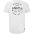 Animal Men's Crafted Back Print T-Shirt - White: Image 2