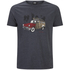 Animal Men's Woody T-Shirt - Total Eclipse Navy Marl: Image 1