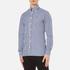 Hackett London Men's Classic Check Shirt - Navy: Image 2