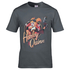 DC Comics Men's Bombshell Harley Quinn Logo T-Shirt - Grey: Image 1