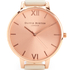 Olivia Burton Women's Big Dial Vegan Watch - Nude & Rose Gold: Image 3