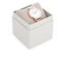 Olivia Burton Women's White Dial Watch - Grey/Rose Gold: Image 4