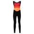 Santini Women's Coral Bib Tights - Orange: Image 2