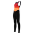 Santini Women's Coral Bib Tights - Orange: Image 1